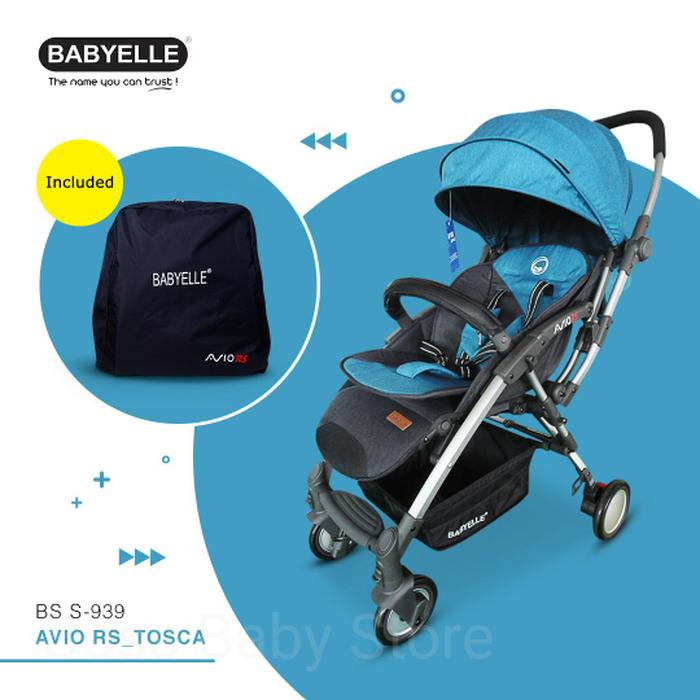 Rental Perlengkapan Bayi Semakin Menguntungkan Dan Simple - BABYVA Rent BabyElle Avio Persewaan Stroller Anak Jogja