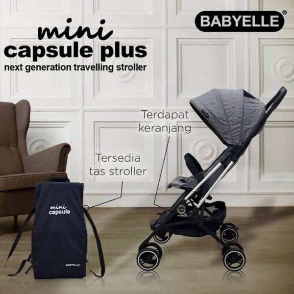 [pgp_title] Baby Elle Mini Capsul Baby Varent Sewa Stroller