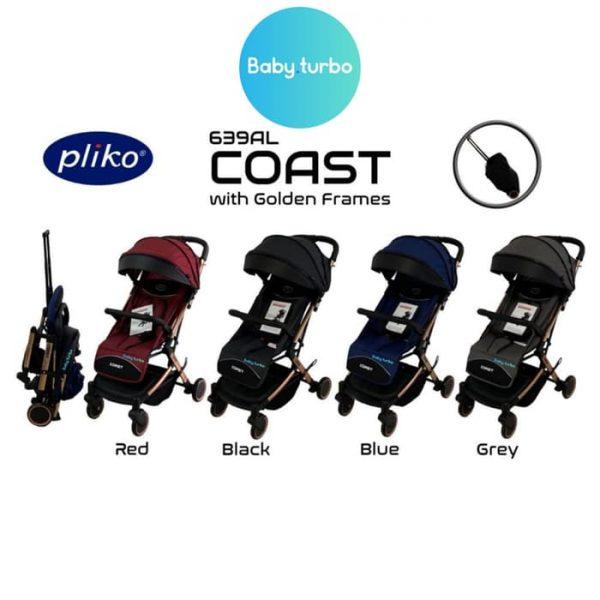 Pliko Coast 629 AL Sewa Stroller Bayi Baby Varent