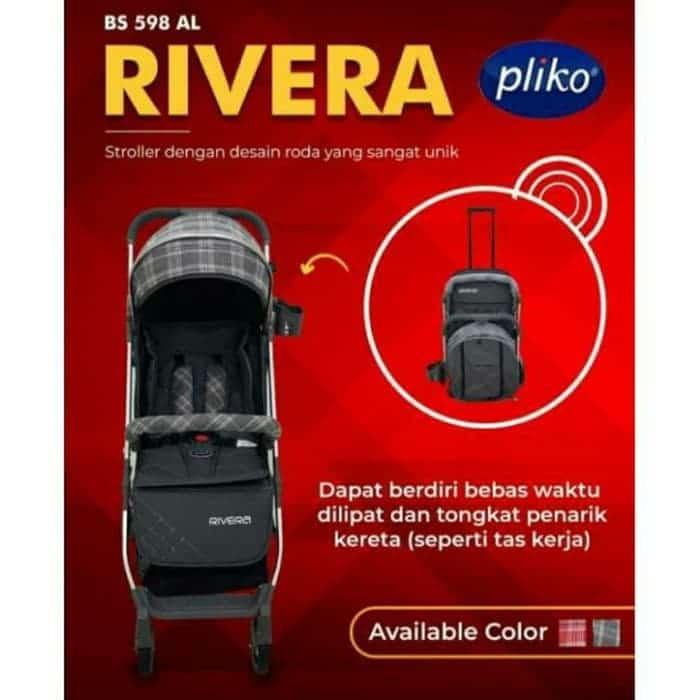 Pliko Rivera Sewa Stroller Bayi Baby Varent