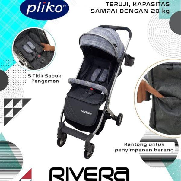 Pliko Rivera Sewa Stroller Bayi Sleman Baby Varent