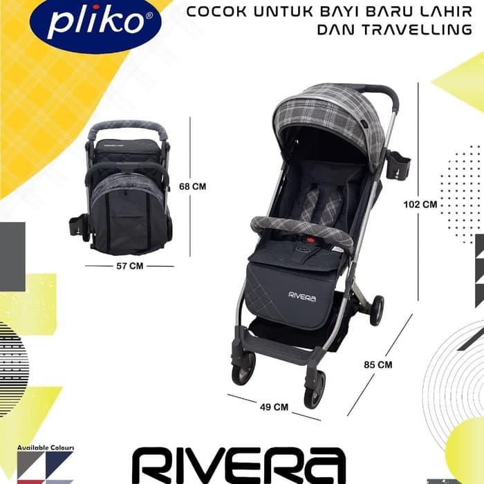 Pliko Rivera Sewa Stroller anak Baby Varent
