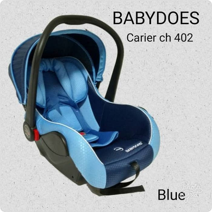 Sewa Car Seat Babydoes Biru Baby Varent