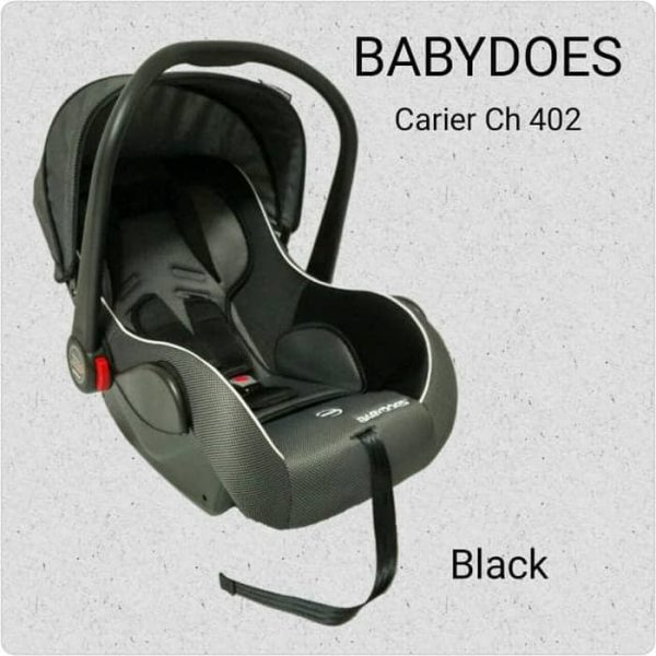 Sewa Car Seat Babydoes Black Baby Varent