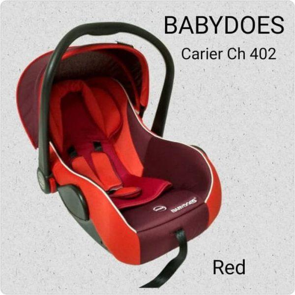 Sewa Car Seat Babydoes Merah Baby Varent