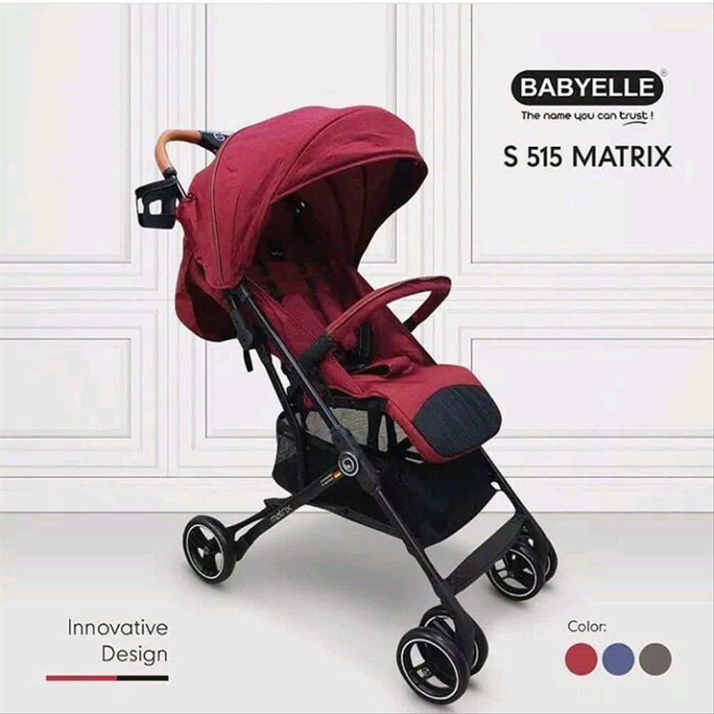 Stroller BabyElle Matrix S515 Rental Stroller Bayi Jogja