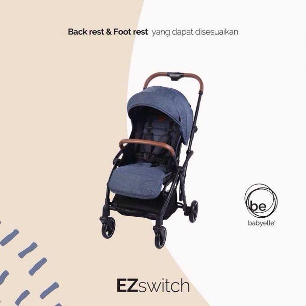 Sewa Rental Stroller Bayi Jogja EZ Switch Stroller BebyElle 5 121