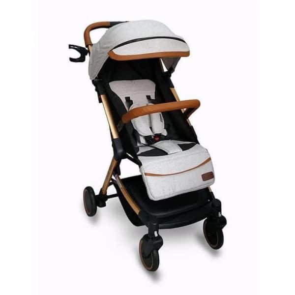 Sewa rental Stroller Bayi Jogja Esmio Gold Stroller BabyDoes Babyvarent 1