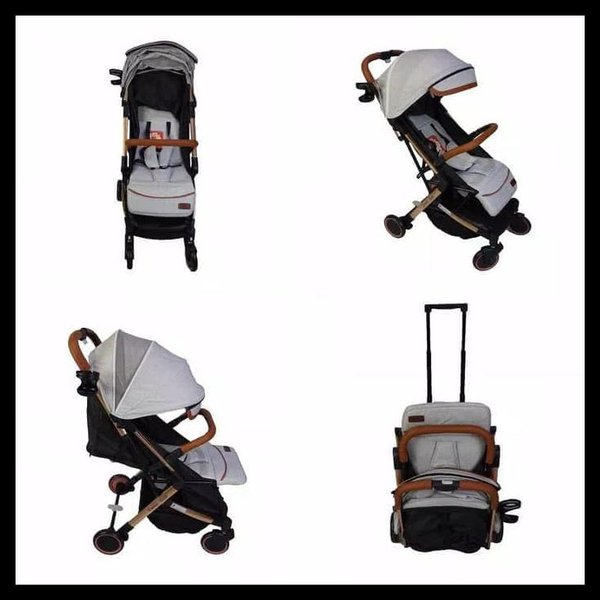 Sewa rental Stroller Bayi Jogja Esmio Gold Stroller BabyDoes Babyvarent 2
